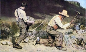 Gustave Courbet, The Stone Breakers, 1849-50