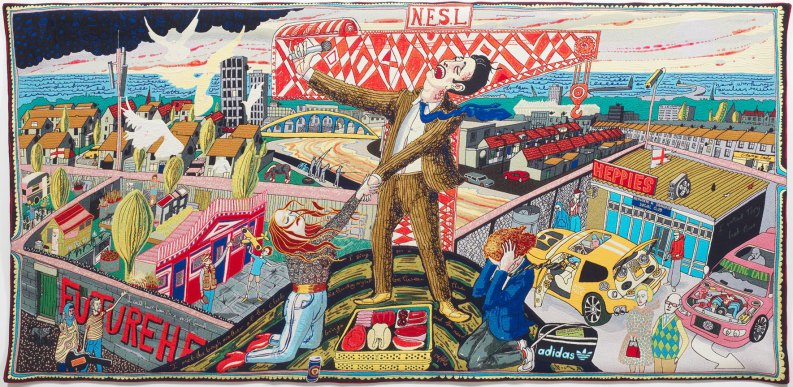 The Agony in the Carpark - Grayson Perry (2012)