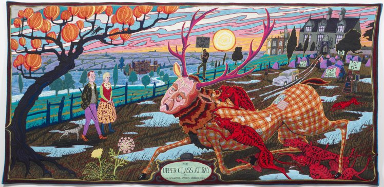The Upper Classes at Bay - Grayson Perry (2012)