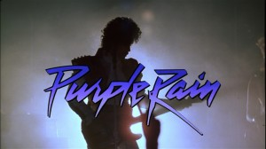 Purple Rain silhouette