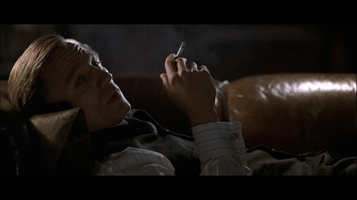 Daniel Craig has a cigarette