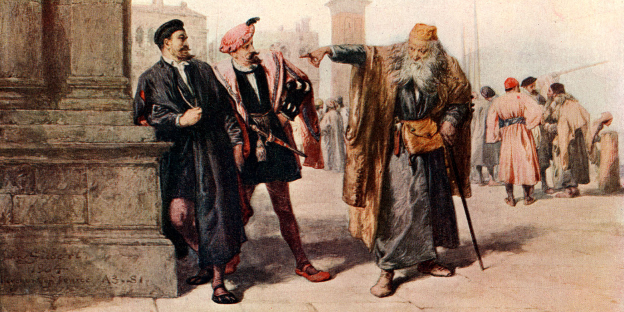 character analysis of shylock essay Shylock is a character in william shakespeare's play the merchant of venice a venetian jewish moneylender, shylock is the play's principal antagonist.