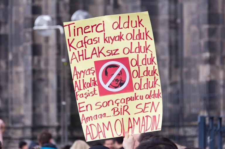 Taksim Gezi Park protest in Cologne